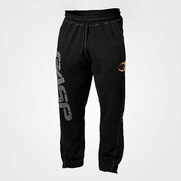 GASP Vintage Sweatpants - Black Detail 1