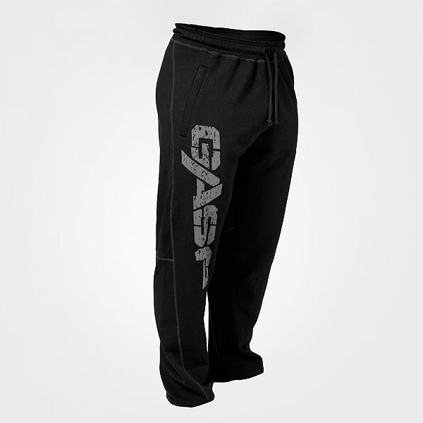 GASP Vintage Sweatpants - Black Detail 2
