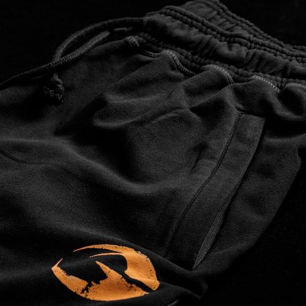 GASP Vintage Sweatpants - Black Detail 4