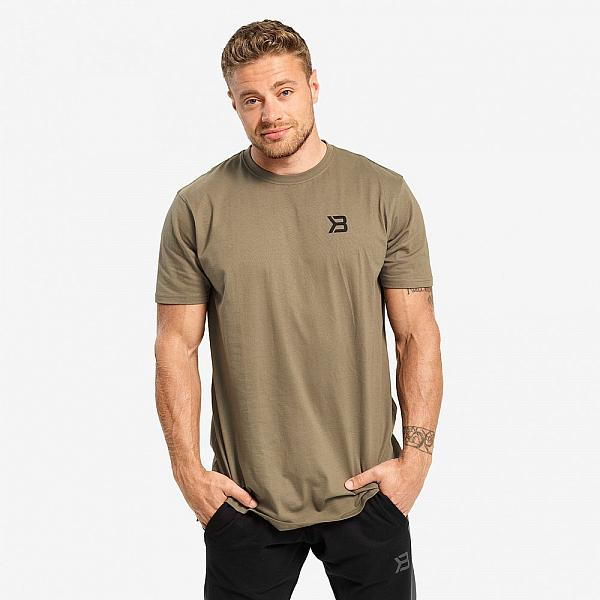 Better Bodies Stanton Oversize Tee - Washed Green Detail 1